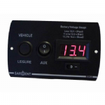 CONTROL PANEL BATTERY VOLTAGE GAUGE (3 SWITCH